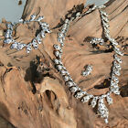 Parure COLLIER Femme SAUTOIR CHAINE panthere argent STRASS ZAZA2CATS new