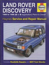 LAND ROVER DISCOVERY 3.5 3.9 PETROL & 2.5 DIESEL (1989-1998) REPAIR MANUAL *VGC*