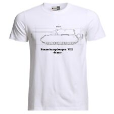 Tiger 8 Maus Tank Blueprint Patent German Army Panzer WW2 Wehrmacht T-Shirt