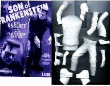 "10""SON OF FRANKENSTEIN Horror Classic Movies Vinyl Model Kit 1/8"