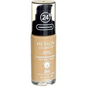 Revlon ColorStay Rich Tan Makeup For Combination Oily Skin 1 fl oz