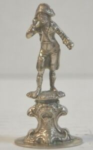 Antique Continental Silver .800 Figurine