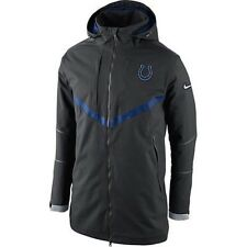 NFL Indianapolis Colts Nike 638954 on Field Storm Fit 550 Down Coat Parka  Sz 3xl 5f692fd73