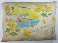 1915 Panama Pacific International Exposition PPIE Souvenir Pillow San Francisco