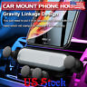 Mount Universal Cradle Stand Foldable AutoGrip Car Air Vent Phone Holder Gravity