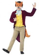 Roald Dahl Fantastic Mr Fox Costume Boys 4 Size Book Week Fancy Dress Kids Child