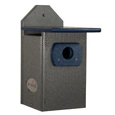 Jcs Wildlife Recycled Poly Lumber Standard Bluebird Bird House