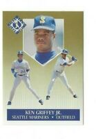 1991 FLEER ULTRA KEN GRIFFEY JR. #4 OF #10 SEATTLE MARINERS HOF