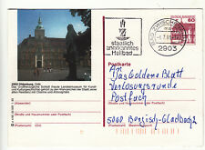 stampsdealer Oldenburg Old. Bildpostkarte Ganzsache Knitterung