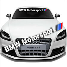 Univeral Car Front Windshield Window Banner Decal Sticker For BMW Motorsport
