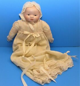 Antique Baby Doll Grace Putnam Bisque Head and hands Life Size and Cries Germany