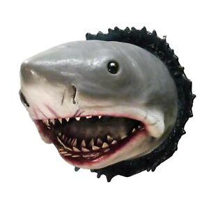 Shark Head Wall  3D Sculpture Crafts  Living European-Style Mount Art Home Décor