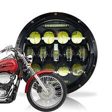 """7""""  LED Headlight 75W Fit For Honda Shadow Aero Phantom VLX VT750 VT1100"""