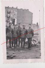 Old Poland Poland Photo Original WWII Ruins of Warsaw Warszawa Polska Wojna