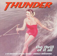 THUNDER THE THRILL OF IT ALL 2 X CDHARD ROCK NEW