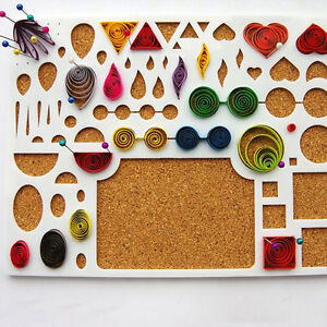 New Quilling Template Board Papercraft Tool Scrapbooks 220*170mm Paper Filigree
