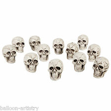 12 Haunted Halloween Gothic Skulls Party Loot Gifts Toys Favours Decorations