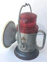 Vintage Delta Electric Co LANTERN Light~6 Volt Railroad Coal Miners Lantern~USA