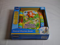 VTech Musical Rhymes Book, 40+ Songs, Melodies, Sounds & Phrases 6-36 Mos
