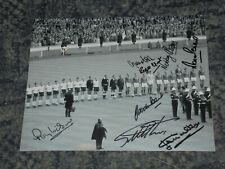 More details for england world cup 1966 -10x8  photo signed by 8 inc stiles, peters, hurst, banks