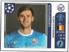 PANINI UEFA CHAMPIONS LEAGUE 2011-12- #451-ZENIT ST PETERSBURG-NICOLAS LOMBAERTS