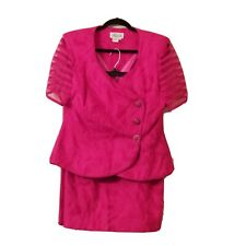 Rimini Jacket Skirt Suit  Pink 2 piece suit.