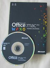 Microsoft Office Mac 2011 Home and Business Full Retail Version W6F-00063 DVD