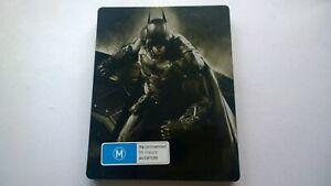 SONY PLAYSTATION 4 PS4  STEELBOOK BATMAN ARKHAM KNIGHT VIDEO GAME FREE POSTAGE