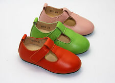 Toddler Baby Girl Shoes kids shoes Mary Jane dress Genuine Leather SIZE 5 to 13