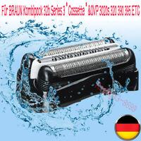 Für BRAUN Kombipack 32b Series 3*Cassette*Schwarz&OVP 3020s 320 390 395 ETC 2019