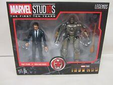 "HASBRO MARVEL LEGENDS 6"" 2 PACK STUDIOS 10 YEARS TONY STARK & IRON MAN MARK 1"