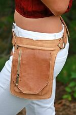 Waist Bag Festival Fanny Pack Leather Hip Bag Utility Belt Belt Bag Bum Bag