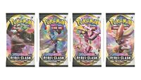 Rebel Clash Sword & Shield Booster PACK Pokemon English Sealed | 1 BOOSTER PACK