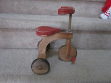 "11"" Wooden Tricycle for Doll or Teddy Bear Owl Creek Mercantile San Antonio Tx"