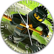 Lego Ninja Ninjago Frameless Borderless Wall Clock Nice For Gifts or Decor X46