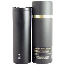 2012 Starbucks Reserve 16oz Black Stainless Steel Tumbler Limited Edition NEW