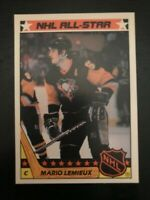 1987-88 Topps Hockey Insert Sticker #11 - Mario Lemieux - Pittsburgh Penguins
