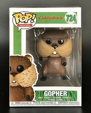 Gopher From Cadyshack Funko Pop. Comes With Funko Protector