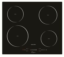 Empava 24 4 Booster Burners Tempered Glass Electric Induction Cooktop Empv-Idc24