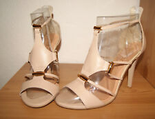 Badura Brand New Ladies Leather High Heel Sandals Shoes Size 7