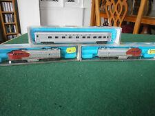 RivaRossi Atlas 2121 FM C Liner Diesel Locomotive Santa Fe, coach and dummy unit