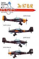 EagleCals Decals 1/48 German JUNKERS Ju-87B/R STUKA Dive Bomber