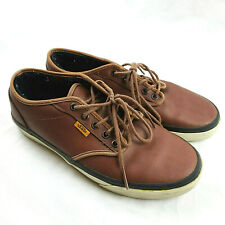 Vans Atwood Brown Leather Upper Mens Size 9 Skate Shoes Casual