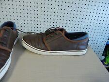 Mens Apt. 9 casual shoes - Ensleytan  -size 8 - brown / blue