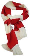 Football-Wheres Wally-Cat in the Hat-Shows-Fancy Dress RED & WHITE WOOL SCARF