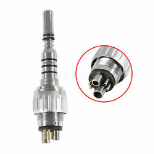 Denitsta Turbina Fiber Optic Handpiece 6Hole LED Coupler attacco rapido Fit KAVO