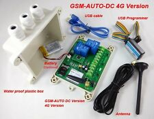 4G GSM-AUTO - 2 x 30 Amp Remote Control Relays - DC Powered - USA/Canada/Mexico