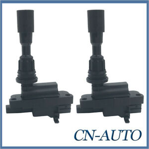 2Pcs Ignition Coils for Ford Laser KN KQ & Mazda 323 Astina BJ 1.6L 1998-2003