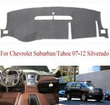 Gray Dashboard Cover Mat For Chevrolet Suburban/Tahoe 07-12 Silverado LTZ 07-13