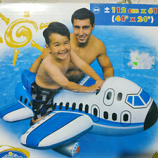 Inflatable Jumbo Jet Ride-on by Intex #56536NP